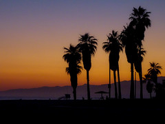 Sunset in Santa Monica (Rubn Ugalde) Tags: california santa sunset beach los angeles playa monica