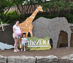 Mommy and Danica (donna_0622) Tags: kids toddler visiting zoo ky kentucky louisvillezoo mom daughter nikon d750 pregnant