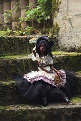 Black witch (Mamzelle Follow) Tags: blackdoll keshi dollstown followthewind bjdfaceup sophb voodoowitch bjdtattoos