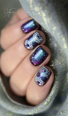 Sugar Bubbles SB 046 (Walquiria R.P.) Tags: nails unhas sugarbubbles unhasdecoradas sb046 stampingnailart nailartstamp