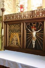 Carew Cheriton (Vitrearum (Allan Barton)) Tags: church medieval reredos coatescarter