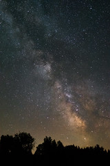 Galactic Funk (Somuchtwosay) Tags: longexposure light summer sky art nature silhouette june night stars nikon exposure vermont view nightscape time space natur astro galaxy astrophotography astronomy 20mm universe tones vt astrophoto galactic dx milkyway nightscaper galacticcore d7200