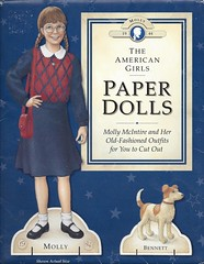 AG Molly Paper Dolls (Foxy Belle) Tags: girl paper dolls molly company american ag pleasant