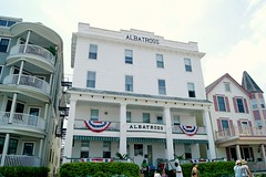 The Albatross Hotel Ocean Grove NJ (holiday_jenny) Tags: park sea vintage spring nj historic og asbury antiques jerseyshore fleamarket oceangrove 2016 tenthouses