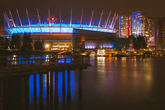 Dome [121] (yegor454) Tags: city canada color art tourism night vancouver contrast digital 35mm canon buildings perfect energy exposure cityscape bc nightscape emotion expression perspective sigma columbia explore exotic experience crop british nightlife 365 epic lense artchitecture 60d