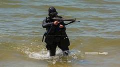 Dia da Marinha 2016 (P.J.V Martins Photography) Tags: portugal marine war gun lisboa lisbon rifle navy maritime oeiras diver marines machinegun marinha portuguesa fuzileiros fuzileiro