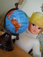 Sindy's Christmas Day - 29 (misssindy) Tags: christmas doll dolls marx 16 gayle diorama pedigree sindy