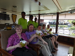 On Board the Houseboat (with Coconuts) (Aidan McRae Thomson) Tags: india boat houseboat kerala kumarakom