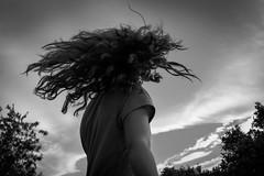 Al vent (monoestepario) Tags: blackandwhite black clouds vent wind nubes