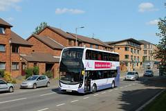 First Glasgow - SN65 OFY (33983HB) (MSE062) Tags: bus scotland major model glasgow first double 400 change alexander dennis mmc caledonia enviro decker adl e400 ofy 33983 sn65 e400mmc sn65ofy 33983hb