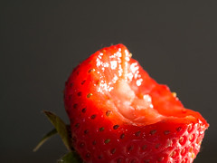 15/365 (jameswrodriguezphotography) Tags: macro juicy strawberry strawberries seeds bite friut