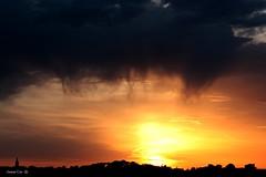 Nascer do sol ( II ) (antoninodias13) Tags: luz portugal lisboa nuvens madrugada tons nascerdosol amadora silhuetas raiar tonalidades