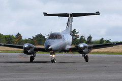 EMB.121 Xingu, 092/YL (30/06/16) (WestwardPM) Tags: xingu 092 embraer newquayairport frenchairforce emb121 cornwallairportnewquay 092yl