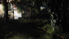 VOEC - 006 (Yousbob - Screenshotgraphy !) Tags: bridge sunset mountain lake game nature water colors contrast forest landscape ethan steam gaming carter concept vanishing beautifull