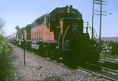 Milwaukee Road SD40-2 149 (Chuck Zeiler) Tags: road railroad train milwaukee locomotive 149 chz milw emd sd402