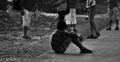 Alone (jagdishchoudhary1) Tags: street friends childhood children alone loneliness no poor lonely