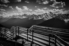 SULPHUR (Matthew Rodwell Photography) Tags: park mountain calgary car peak cable starbucks national banff gondola sulphur gondolier albera