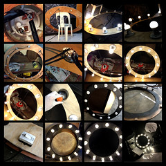 Day 352 | Diy Ring Light P.2 (L S G) Tags: wood light electric bulb studio diy nikon wiring flash philippines ring how build plywood d3 ply lsg 4feet strobist diypfav