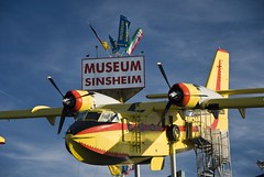 Sinsheim Aviation & Auto Museum, Germany (dkjphoto) Tags: auto travel tourism car sign museum germany airplane fly flying europe tour antique aircraft aviation flight technik tourist concorde airliner supersonic badenwrttemberg sinsheim tupolevtu144 dennisjohnson autotechnikmuseumsinsheim wwwdenniskjohnsoncom