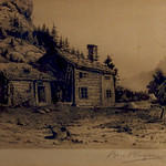 "<b>Romsdalen, Norway</b><br/> Ben Blessum (1877-1954) ""Romsdalen, Norway"" Etching, n.d. LFAC #070<a href=""http://farm8.static.flickr.com/7036/6779984920_6d9c4625d9_o.jpg"" title=""High res"">∝</a>"