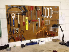 Workbench (fabiorandonneur) Tags: plywood workbench toolboard