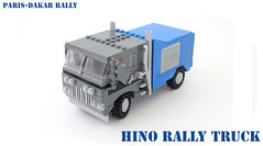 Hino, Paris-Dakar Rally truck (Lego Junkie.) Tags: 2 paris race truck lego offroad rally dakar