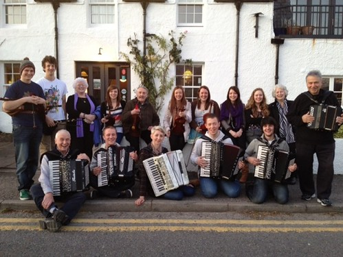 Musicians at the Ceilidh Palace Ullapool