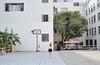 (yyellowbird) Tags: california selfportrait girl basketball court losangeles cari