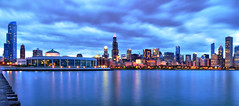 Happy 175th Birthday Chicago!!! (Seth Oliver Photographic Art) Tags: nightphotography chicago clouds buildings reflections iso200 illinois nikon midwest skyscrapers searstower cities cityscapes lakemichigan nightshots trumptower southloop hdr pinoy nightscapes sheddaquarium chicagoskyline urbanscapes 30secondexposure secondcity windycity longexposures chicagoist movingclouds d90 nightexposures bigcities wetreflections pseudohdr cityofbigshoulders willistower highdynamicrangeimages setholiver1 aperturef180 bluehourphotography 18105mmnikkorlens circularpolarizers bluehourshots tripodmountedshot remotetriggeredshot wbsettocloudy vrmodeoff croppedforcomp manualmodeexpposure sunglefilehdr 175thbirthdayofthecityofchicago