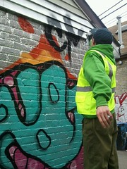 The Diller in action... (thediller) Tags: birthday old chicago graffiti march 4th years 175 2012 cmk phor