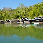 Living on the river Kwae near Sai Yok Yai waterfall, Kanchanaburi, Thailand thumbnail