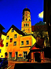 Bludenz, Vorarlberg, Austria, Art of Facades of Bludenz (Josef Lex (new missions not yet accomplished!)) Tags: eu bludenz laurentius anglesanglesangles arethisbuildings pfarrkirchesanktlorenz