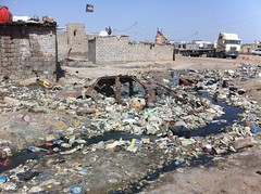 Dumped Waste, Basra, Iraq
