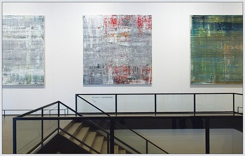 Cage #4, (#3 and #1 half), by Gerhard Richter