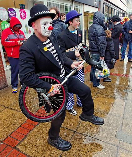 Clowns international - Mr Mudge and Trip