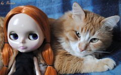 9/52: we are redheads, so we are friends=) or vice versa?