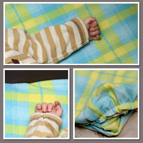 fleece sheet