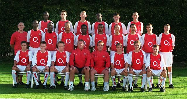 Arsenal Under 15s 2003/4