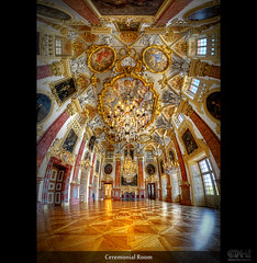 Ceremonial Room (HDR Vertorama) (farbspiel) Tags: panorama history deutschland nikon interior wideangle palace historic handheld stitching photomerge schloss stitched deu hdr superwideangle 10mm badenwrttemberg ultrawideangle rastatt tonemapped vertorama d7000 nikkorafsdx1024mmf3545ged topazdetail topazinfocus
