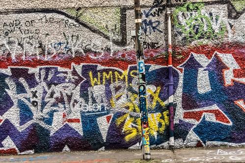 Street Art & Graffiti - Windmill Lane (Dublin)