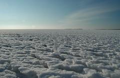 Vlieland - Vliehors - winter 2012 (Dirk Bruin) Tags: snow vlieland cornfield open sneeuw great wide zee zand ijs klu vliehors gwo zuidzijde waddengebied zuidkant flickraward ijsgang itgwo