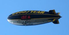 The Goodyear Blimp Flies Over Pittsburgh (Peter Radunzel) Tags: usa pittsburgh pennsylvania blimp airship dirigible goodyearblimp n3a thespiritofgoodyear