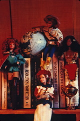 What Can She Know? (tangrena1) Tags: code dolls barbie gloria womens lorraine feminist studies steinem