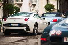 Threesome (Lambo8) Tags: california blue horse white france car rain switzerland photo hp nikon italia power d south pluie 8 continental s ferrari monaco 200 164 28 af gt nikkor 80 bugatti bianco blanc f28 supercar v8 bentley ch sud w16 bleue combo 1001 veyron 80200mm 80200 gtc 80mm d300 200mm afd 1001hp worldcars