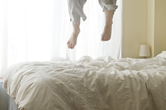 (.lissa.) Tags: feet me self jump jumpingonthebed project365 365days