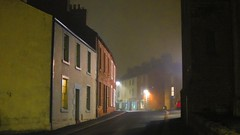 Misty Night in Brampton (ambo333) Tags: uk england mist misty night cumbria brampton frontstreet stmartinschurch geltroad