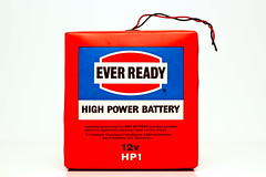 Day 48 (Matt Preston) Tags: dc power battery cell electricity 70s seventies volts 12v everready hp1 everreadyhp1battery highpowerbattery