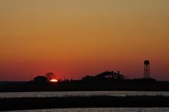 Tangerine (Robert Sinclair) Tags: sunset newjersey segment fishfactory greatbay