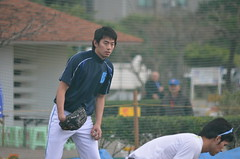 DSC_1808 (mechiko) Tags: 横浜ベイスターズ 120209 王溢正 横浜denaベイスターズ 2012春季キャンプ