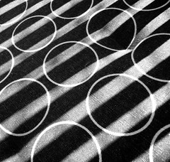 circles or lines (Argyro...) Tags: blackandwhite white abstract black lines circles frommybalcony blackwhitephotos chaircushion